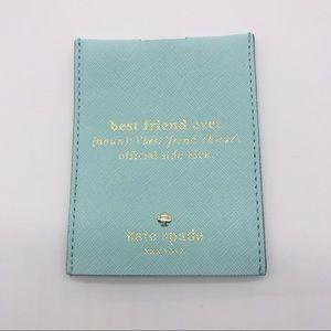 Kate Spade Tiffany Blue Card Holder